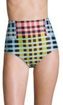 Mara Hoffman Meridian High-Waist Bikini Bottom