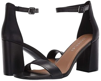 Aerosoles Long Beach (Black Leather) Women's Shoes