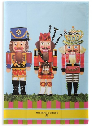 Mackenzie Childs Nutcracker Dish Towel