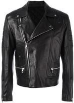 Juun.J zip up biker jacket