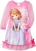 Disney Little Girls' Sofia The First Costume Sleep Gown