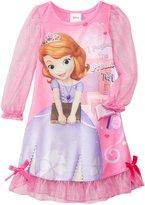 Disney Little Girls' Sofia The First Costume Sleep Gown