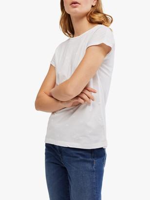 White Stuff Rosie Embroidered T-Shirt