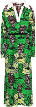 Stella McCartney Printed Cotton Midi Dress