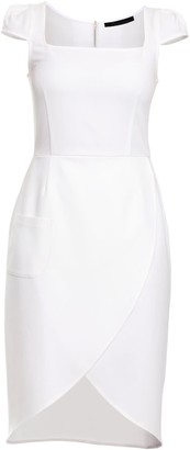 Philosofée By Glaucia Stanganelli Off White Tulip Dress