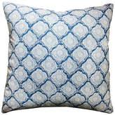 Kim Salmela Mina 20x20 Cotton Pillow - Blue