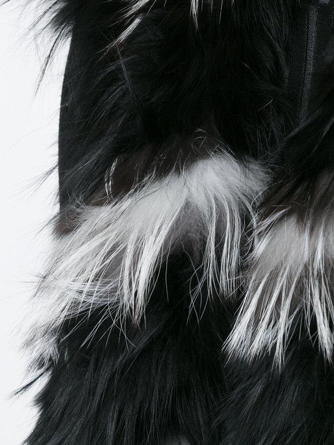 Yves Salomon sleeveless coat