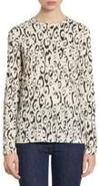 Proenza Schouler Leopard-Print Cotton Tee