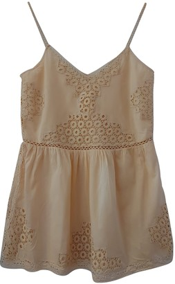 Tularosa Ecru Cotton Dress for Women