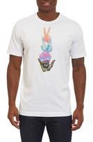 Robert Graham Men's Hand Signs Graphic T-Shirt