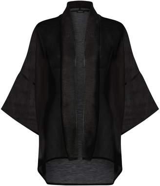 eskandar Silk-Linen Jacket