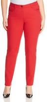 BASLER PLUS Julienne Skinny Jeans in Red