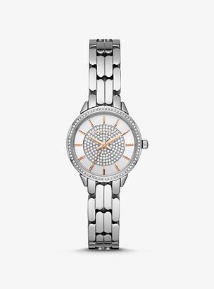 Michael Kors Mini Allie Silver-Tone Watch - Silver