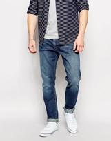 Polo Ralph Lauren Slim Jeans In Mid Wash - Blue