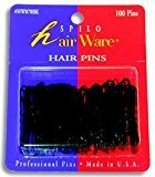 "Spilo Hair Ware - Hair pins - 100 pins Size: 1.75"" No. HW070BK by"