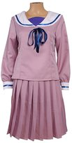 Mtxc Women's Noragami Cosplay Costume Iki Hiyori Junior High School Uniform Size Medium