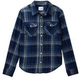 Joe's Jeans Long Sleeve Twill Weave Plaid Shirt (Big Boys)