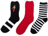 Betsey Johnson Emoji Betsey Cozy Sock Three Pack