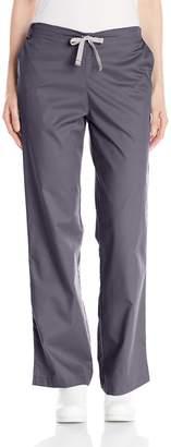 Wonderwink WONDERWINK Women's Plus-Size Wonderwork Flare Leg Scrub Pant