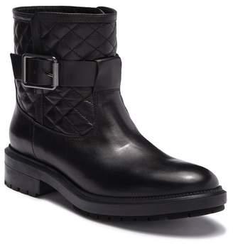 Aquatalia Launa Quilted Leather Mid Boot