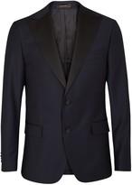 Oscar Jacobson Elder wool tuxedo jacket