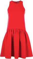 Alexander McQueen pleated dress - women - Silk/Polyamide/Virgin Wool - 40