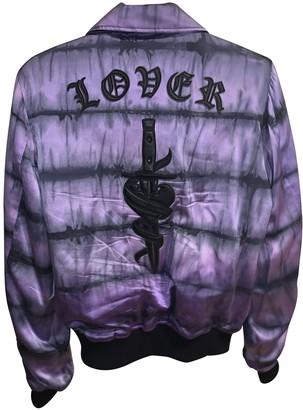 Amiri Purple Silk Jackets
