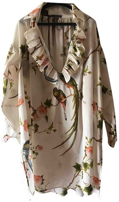 Alexander McQueen Beige Cotton Top for Women