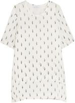 IRO Janet fil coupé silk-blend georgette mini dress
