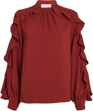 Hofmann Copenhagen Annie Ruffle Sleeve Blouse