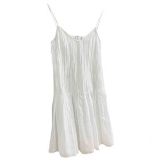 La Perla White Cotton Dress for Women