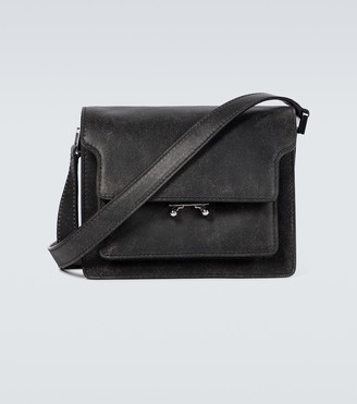 Marni Trunk leather minibag