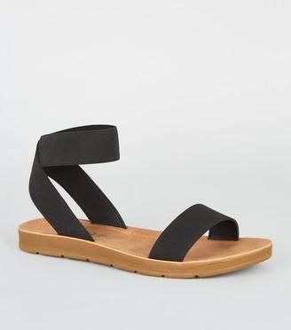 New Look Elastic Strap Flexible Sole Sandals