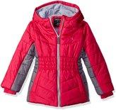 Calvin Klein Big Girls Mohawk Puffer Jacket