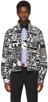 Prada Black Divisa Comics Jacket