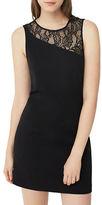 MANGO Roundneck Sleeveless Lace Dress