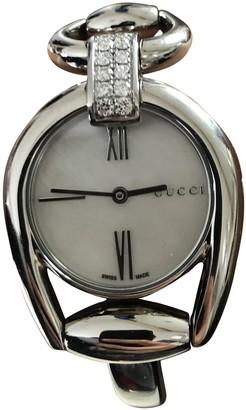 Gucci Horsebit Silver Steel Watches
