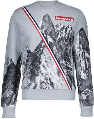 Moncler Maglia printed sweatshirt