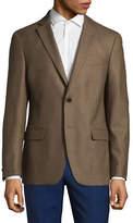 Michael Michael Kors Plaid Wool Sports Jacket