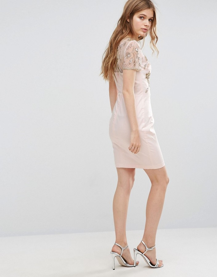 French Connection Horizon Embellished Dress