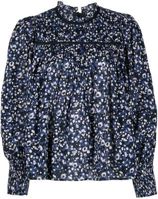 Ulla Johnson Amina floral print blouse