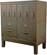 Rejuvenation Steel Filing Cabinet by Globe c1925