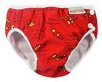Imse Vimse Swim Diapers - Medium - Red Lizard