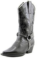 Roper Silver Snip Toe Harness Cowgirl Boot (Toddler/Little Kid)
