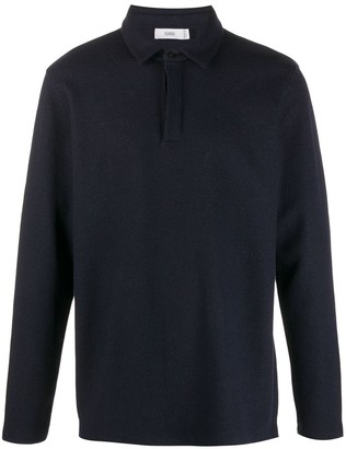 Closed Concealed Front Polo Shirt