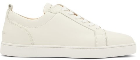 newest f242a ce047 Louis Junior Low Top Leather Trainers - Mens - White