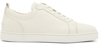 Christian Louboutin Louis Junior Low-top Leather Trainers - White