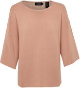 Oxford Cari Cotton Tunic Knit Nvy X