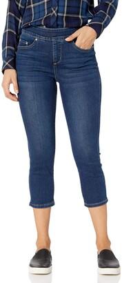 Jag Jeans Women's Petite Maya Skinny Pull On Crop Jean