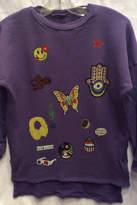 Lauren Moshi Patches Hilow Sweatshirt